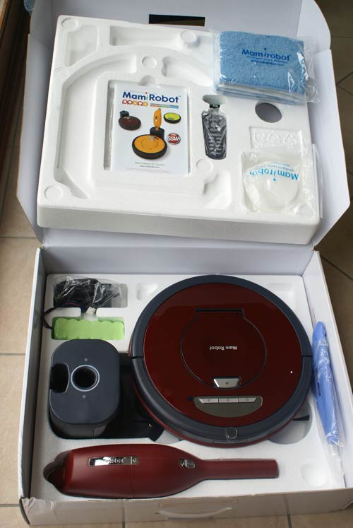 boite sevian K7 robot aspirateur