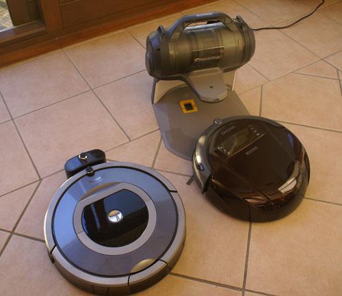 Deepoo D76 ou Roomba 780