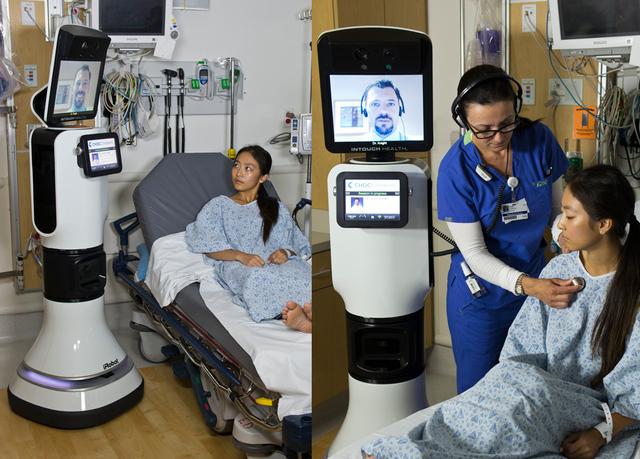 RP-Vita : le robot médecin par téléprésence - Blog Kelrobot