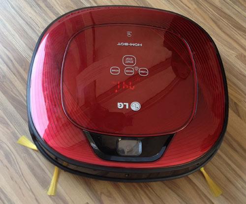 l 39 aspirateur robot carr le lg hom bot square disponible en france blog kelrobot. Black Bedroom Furniture Sets. Home Design Ideas