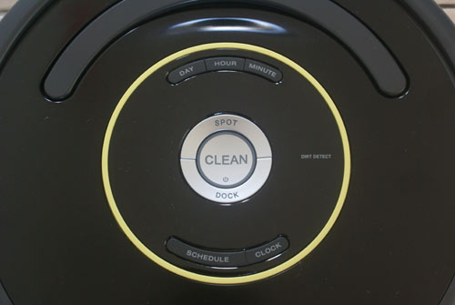 boutons roomba 650