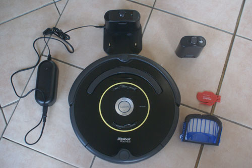 test complet du roomba 650 615 620 621 630 632 660. Black Bedroom Furniture Sets. Home Design Ideas