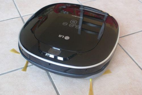 LG HOM BOT Square VR7412RB : le test complet