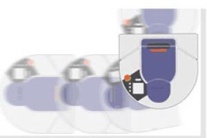 neato aspirateur robot coin
