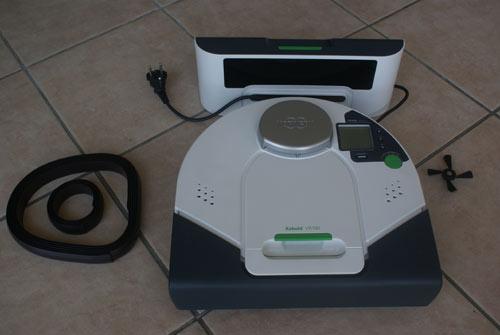 Test du robot aspirateur KOBOLD VR100 de VORWERK