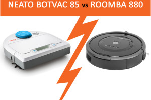 roomba 880 vs Neato Botvac