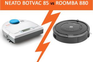 roomba 880 vs Neato Botvac
