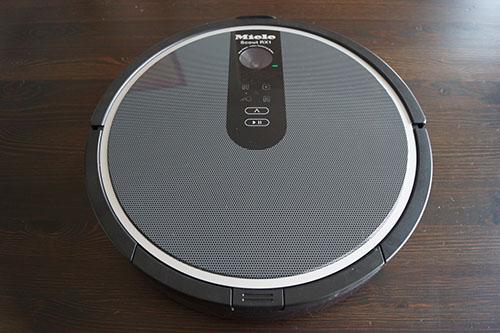test complet de l 39 aspirateur robot scout rx1 de miele. Black Bedroom Furniture Sets. Home Design Ideas