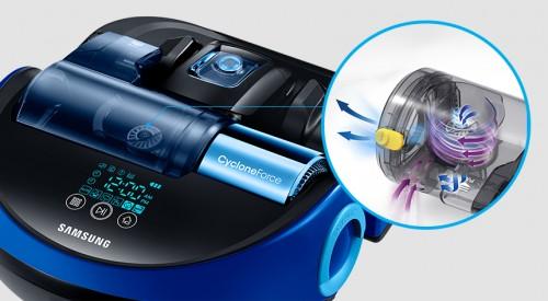 """samsung révèle un nouveau robot aspirateur : le vr9000h """"powerbot"""