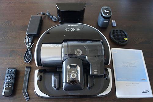 test et avis de l'aspirateur robot powerbot de samsung vr9000