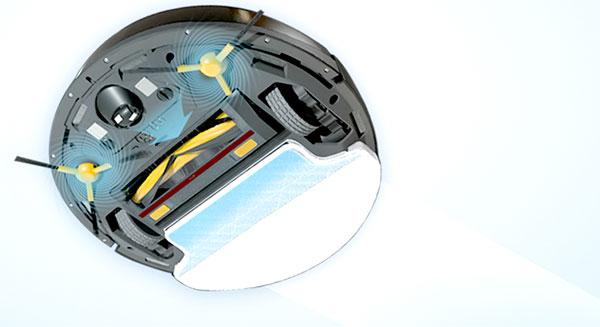 test et avis du robot hybride aspirateur et laveur deebot m8 ou dm85 d 39 ecovacs blog kelrobot. Black Bedroom Furniture Sets. Home Design Ideas