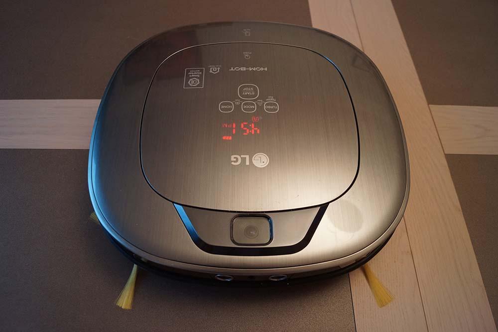 LG VR6600PG (Hom Bot Square VR6600PG), fiche technique, prix
